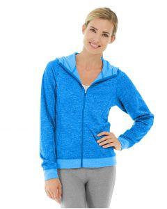 Helena Hooded Fleece-XL-Blue
