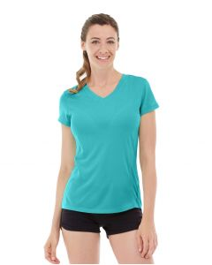 Gabrielle Micro Sleeve Top-XL-Blue
